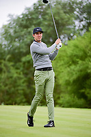 Jamie Lovemark (USA) watches his tee shot on 14 during round 3 of the Valero Texas Open, AT&amp;T Oaks Course, TPC San Antonio, San Antonio, Texas, USA. 4/22/2017.<br /> Picture: Golffile | Ken Murray<br /> <br /> <br /> All photo usage must carry mandatory copyright credit (&copy; Golffile | Ken Murray)