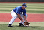 Western Nevada's Connor Klein makes a play in a college baseball game against Mt. Hood in Carson City, Nev., on Friday, March 15, 2013..Photo by Cathleen Allison