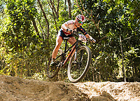 Picture by Alex Broadway/SWpix.com - 09/09/17 - Cycling - UCI 2017 Mountain Bike World Championships - XCO - Cairns, Australia - Annie Last of Great Britain competes in the Women's Elite Cross Country Final.