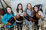 Julia Harrington, Sophie Ryan, Niamh Wilson and Sarah Gavin from Tuosist Comhaltas at the kerry Comhaltas Sult na nOg music competition at the IT Tralee on Saturday