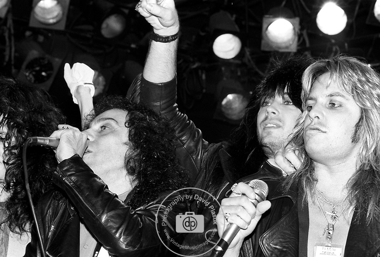Ronnie James Dio, Rik Fox, Vince Neil