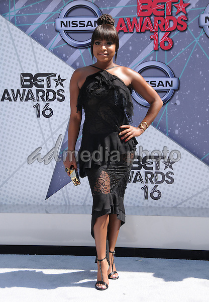 26 June 2016 - Los Angeles. Naturi Naughton. Arrivals for the 2016 BET Awards held at the Microsoft Theater. Photo Credit: Birdie Thompson/AdMedia