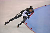SCHAATSEN: SALT LAKE CITY: Utah Olympic Oval, 16-11-2013, Essent ISU World Cup, 1000m, Gilmore Junio (CAN), ©foto Martin de Jong
