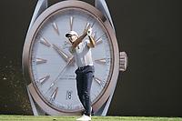 Alvaro Quiros (ESP) during the third round of the Omega Dubai Desert Classic, Emirates Golf Club, Dubai, UAE. 26/01/2019<br /> Picture: Golffile | Phil Inglis<br /> <br /> <br /> All photo usage must carry mandatory copyright credit (© Golffile | Phil Inglis)