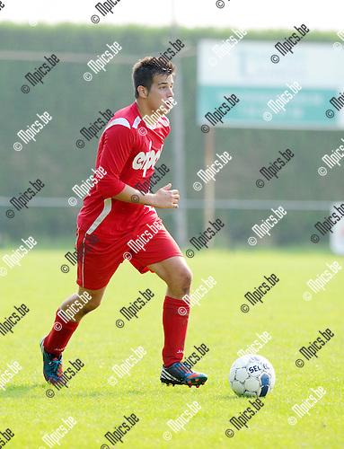 2014-09-07 / Voetbal / seizoen 2014-2015 / KFC Ranst - Rochus Deurne / Evert De Pooter<br /><br />Foto: Mpics.be