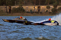 Jim Wilson, Y-20 and Chris Hall, Y-97  (1 Litre MOD hydroplane(s)