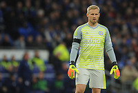 Leicester City's Kasper Schmeichel<br /> <br /> Photographer Kevin Barnes/CameraSport<br /> <br /> The Premier League -  Cardiff City v Leicester City - Saturday 3rd November 2018 - Cardiff City Stadium - Cardiff<br /> <br /> World Copyright © 2018 CameraSport. All rights reserved. 43 Linden Ave. Countesthorpe. Leicester. England. LE8 5PG - Tel: +44 (0) 116 277 4147 - admin@camerasport.com - www.camerasport.com