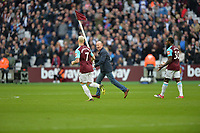 Trouble at West Ham during West Ham United vs Burnley, Premier League Football at The London Stadium on 10th March 2018