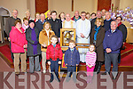 Parish members from Tarbert pictured last Wednesday afternoon welcome the Eucharistic Congress Bell which is touring parishes in Ireland as part of the International Eucharistic Congress 2012.