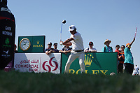 Hideto Tanihara (JPN) in action during the second round of the Commercial Bank Qatar Masters, Doha Golf Club, Doha, Qatar. 08/03/2019<br /> Picture: Golffile | Phil Inglis<br /> <br /> <br /> All photo usage must carry mandatory copyright credit (&copy; Golffile | Phil Inglis)