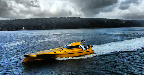 Thunderchild on her 800nm odyssey to Corryvreckan off the Scottish West Coast