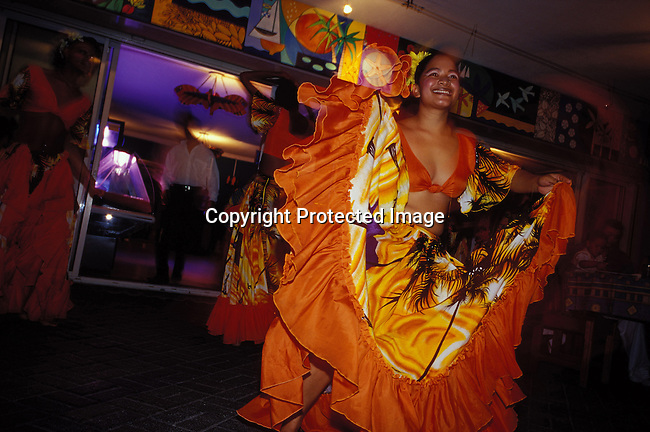 dicomau00027 Mauritius The traditional sexy dance Sega performed in a nightclub in Grand Bayon July 6, 2003, on Mauritius. The island, located in the Indian Ocean, is a popular place for tourists. .Photo: Per-Anders Pettersson/ iAfrika Photos