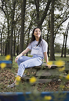 Dannie Hu, Pea Ridge High <br /> (NW Democrat-Gazette/Charlie Kaijo)