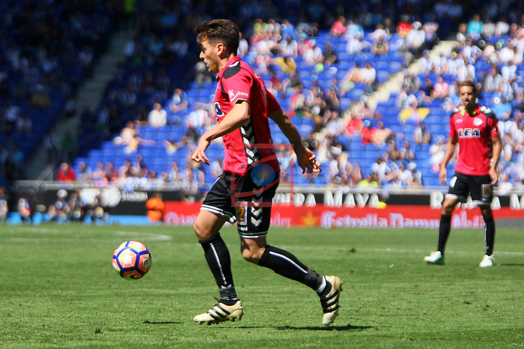 League Santander 2016/2017. Game: 31.<br /> RCD Espanyol vs Deportivo Alaves: 1-0.<br /> Ibai.