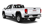 Car pictures of rear three quarter view of 2020 GMC Sierra-3500HD - 4 Door Pick-up Angular Rear