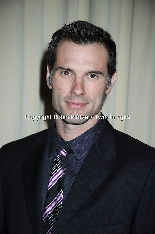 """Austin Peck of """"One Life to Live"""" attending the 26th Annual Starlight Children's Foundation Gala on March 16, 2011 at The Marriott Marquis Hotel in New York City."""