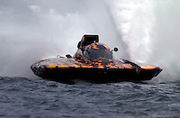 "Regates de Valleyfield, 6-8 July,2001 Salaberry de Valleyfield, Quebec, Canada.Copyright©F.Peirce Williams 2001.GP-101 ""Pavages Chenail, Grand Prix class hydroplane..F. Peirce Williams .photography.P.O.Box 455  Eaton, OH 45320.p: 317.358.7326  e: fpwp@mac.com"