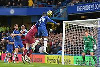 Mason Mount Of Chelsea FC heads over during Chelsea vs West Ham United, Premier League Football at Stamford Bridge on 30th November 2019