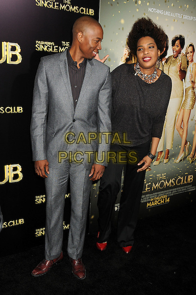 10 March 2014 - Hollywood, California - Robbie Jones, Macy Gray. &quot;The Single Moms Club&quot; Los Angeles Premiere held at Arclight Cinemas. <br /> CAP/ADM/BP<br /> &copy;Byron Purvis/AdMedia/Capital Pictures