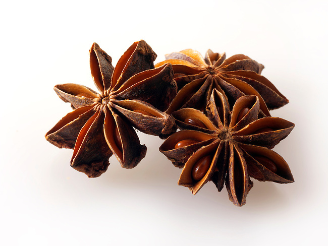 Whole Star Anise fruits