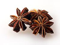 Whole Star Anise fruits