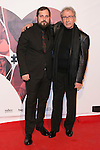 """Carlos Vermut and Jose Sacristan attend the Premiere of the movie """"MAGICAL GIRL"""" at Callao Cinemas in Madrid, Spain. October 16, 2014. (ALTERPHOTOS/Carlos Dafonte)"""