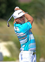 151201 Ricky Fowler during Tuesday's Practice Round of The Hero World Challenge at The Albany Golf Club, in Nassau,Bahamas.(photo credit : kenneth e. dennis/kendennisphoto.com)