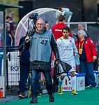 ROTTERDAM - fotograaf Frank Uijlenbroek van WSP    tijdens   de Pro League hockeywedstrijd heren, Nederland-Spanje (4-0) . COPYRIGHT KOEN SUYK