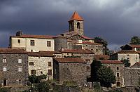 Europe/France/Auvergne/43/Haute-Loire/Saint Arcons: Le village
