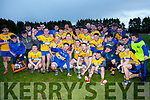 Brosna V St. Senan's : St. Senan's celebrate as they win their second  final in a row  in the  North Kerry  Bernard O'Callaghan Senior Championship Final sponsored by McMunn's Bar & Restaurant, Ballybunion held in O'Rahilly Park, Ballylongford on Sunday last.