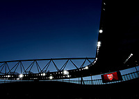 A general view inside the Emirates Stadium during the UEFA Europa League round of 16 2nd leg match between Arsenal and AC Milan at the Emirates Stadium, London, England on 15 March 2018. Photo by Vince  Mignott / PRiME Media Images.