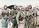 Iraq 1985 <br /> In winter in Daban,peshmergas  <br />  Irak 1985 <br /> En hiver a Daban, des peshmergas
