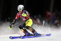 January 8th 2020, Madonna di Campiglio, Italy;  FIS Alpine Ski World Cup Men's Night Slalom in Madonna di Campiglio, Italy on January 8, 2020, Armand Marchant (BEL) - Editorial Use