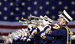 (Boston, MA, 11/21/15) Members of the Notre Dame marching band perform the National Anthem as Notre Dame hosts Boston College at Fenway Park in Boston on Saturday, November 21, 2015. Photo by Christopher Evans