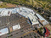 Paisaje urbano, paisaje de la ciudad de Hermosillo, Sonora, Mexico. Estacionamiento de autos y centro comercial Galerias Mall.<br /> Urban landscape, landscape of the city of Hermosillo, Sonora, Mexico.<br /> (Photo: Luis Gutierrez /NortePhoto)