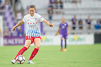 Orlando, FL - Saturday July 01, 2017: Sofia Huerta during a regular season National Women's Soccer League (NWSL) match between the Orlando Pride and the Chicago Red Stars at Orlando City Stadium.