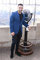NEW YORK, NY - NOVEMBER 7:  Jay Sean lights the Empire State Building in celebration of  Diwali on November 7, 2018 in New York City.               <br /> CAP/MPI99<br /> &copy;MPI99/Capital Pictures