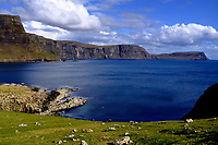 Isle of Skye Loch general view of the cliffs and the sea at Neist point<br /> Scotland May 8th - 19th. Trip across Scotland<br /> Foto Samantha Zucchi Insidefoto