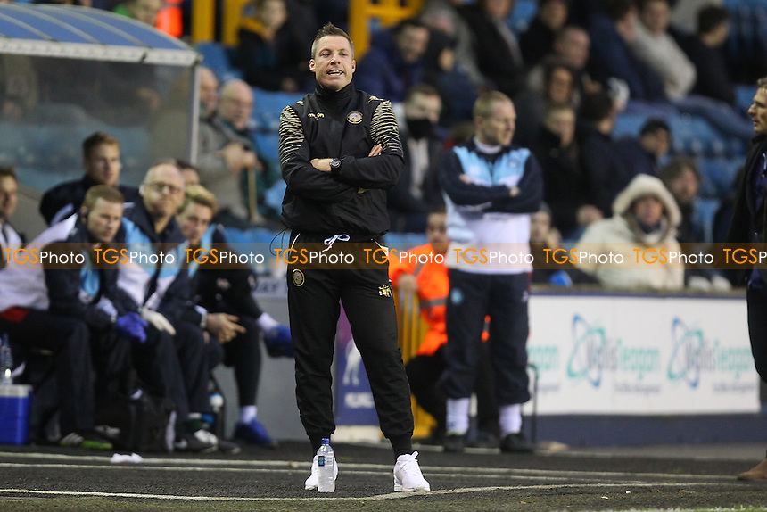 Millwall manager Neil Harris during Millwall vs Wycombe Wanderers at The Den