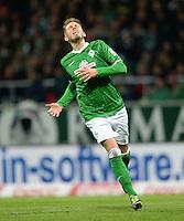 FUSSBALL   1. BUNDESLIGA   SAISON 2013/2014   11. SPIELTAG SV Werder Bremen - Hannover 96                         03.11.2013 Aaron Hunt (SV Werder Bremen)