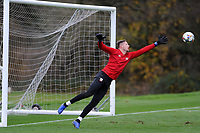 Wayne Hennessey of Wales in action during the Wales Training Session at The Vale Resort, Hensol, Wales, UK. Monday 19 November 2018