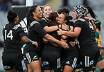 Ruahei Demant. Black Ferns v Wallaroos, Eden Park, Auckland, Saturday 17 August 2019. Photo: Simon Watts/www.bwmedia.co.nz
