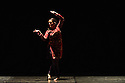 London, UK. 18.04.2013. Sonia Sabri Company present KAAVISH in the Purcell Room, Southbank Centre. Picture shows: Sonia Sabri in NEON DREAM. Photograph © Jane Hobson.