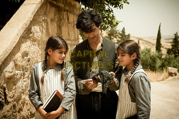 THE CUT (2015)<br /> Nazaret Manoogian (Tahar Rahim) with Arsin&eacute;e (Zein Fakhoury) and Lucin&eacute;e (Dina Fakhoury)<br /> *Filmstill - Editorial Use Only*<br /> CAP/FB<br /> Image supplied by Capital Pictures