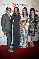 May 21, 2012 Russell Simmons, Patricia Velasquez, Dayana Mendoza and Cu Cu Diamantes at the 10th Anniversary gala of the Wayuu Taya Foundation at the Dream Downtown Hotel in New York City. Credit: RW/MediaPunch Inc.