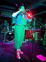 CIUDAD DE MÉXICO, septiembre 5, 2014. La cantante chilena Anita Tijiux durante su concierto en el Pasagüero de la Ciudad de México, para presentar el disco Vengo, el 05 de septiembre de 2014. FOTO: ALEJANDRO MELÉNDEZ
