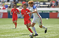 Portland, OR - Saturday August 12, 2017: Joshua Sargent during friendly match between the USMNT U17's and Chile u17's at Providence Park in Portland, OR.