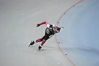SCHAATSEN: HAMAR: Vikingskipet, 11-01-2014, Essent ISU European Championship Allround, 500m Men, Haralds Silovs (LAT), ©foto Martin de Jong