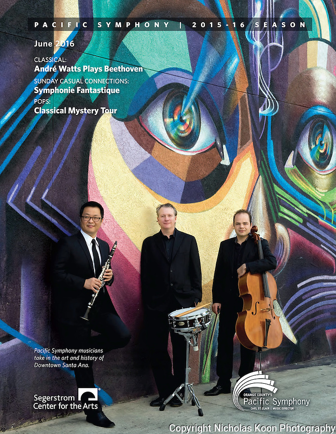 Pacific Symphony Program covers, 12/2015 - 12/2016
