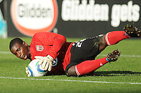 DC United goalkeeper Bill Hamid (28).  DC United defeated The Kansas City Wizards  2-0 at RFK Stadium, Wednesday  May 5, 2010.